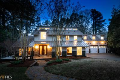 Marietta, Roswell Single Family Home For Sale: 4284 Cove Way