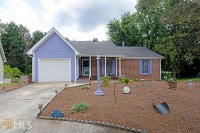 Clarkston Single Family Home Under Contract: 875 Market Way