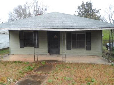 Newnan Single Family Home For Sale: 7 Gay St