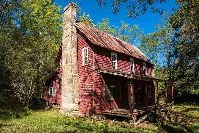 Rabun County Single Family Home Under Contract: 1940 Bettys Creek