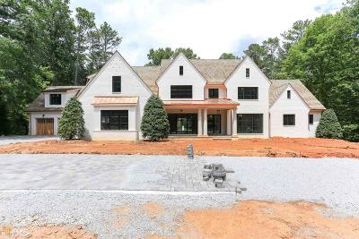 Roswell, Sandy Springs Single Family Home For Sale: 505 Kenbrook Dr