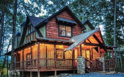 Blue Ridge Single Family Home For Sale: Toccoa Preserve #Lot 15