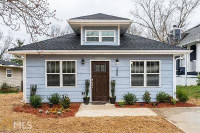 Grant Park Single Family Home For Sale: 255 South Ave