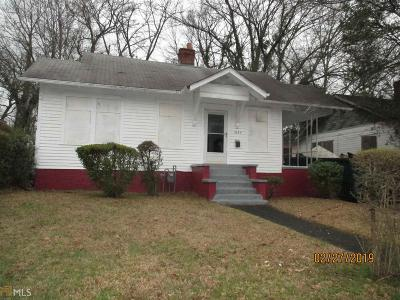 Mozley Park Single Family Home Under Contract: 1589 Archer St