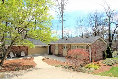 Buckhead Single Family Home For Sale: 1199 Milmar Dr