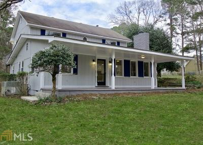 Conyers Single Family Home Under Contract: 724 SE Cowan Rd