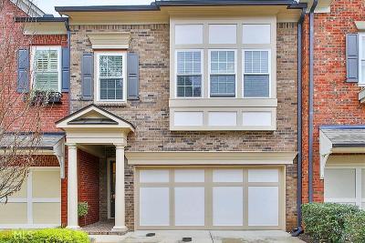 Peachtree City GA Condo/Townhouse For Sale: $337,000