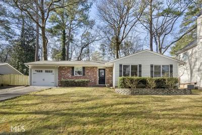 Atlanta Single Family Home For Sale: 2980 Cynthia Dr