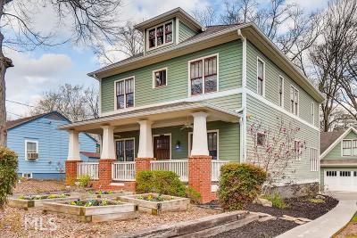 Decatur Single Family Home Under Contract: 350 Greenwood Ave