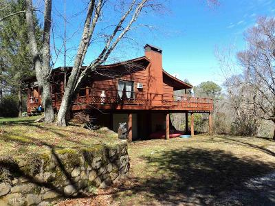 Rabun County Single Family Home Under Contract: 2883 N Germany Mtn Rd