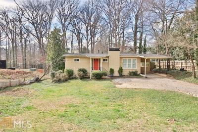 Brookhaven Single Family Home Under Contract: 3002 Hermance Dr