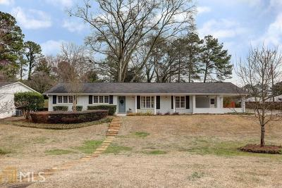 Roswell Single Family Home Under Contract: 1045 Tuxedo Ct