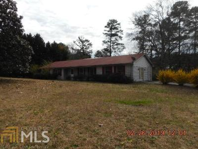 Conyers Single Family Home For Sale: 1898 SW Smyrna Rd