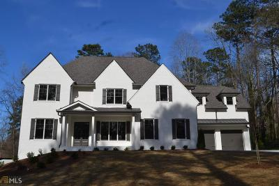 Marietta, Roswell Single Family Home For Sale: 3900 Timberwood