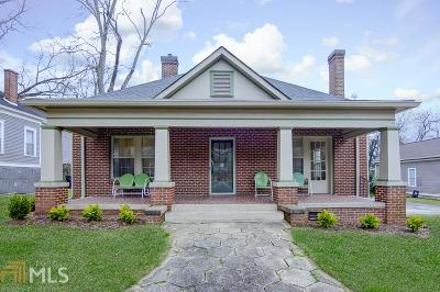 Newnan Single Family Home For Sale: 52 Wesley St