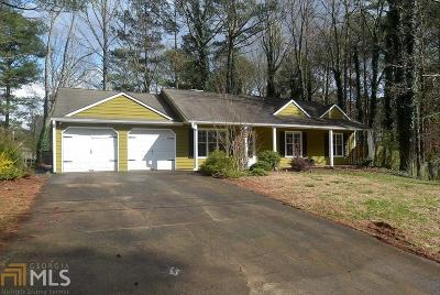 Powder Springs Single Family Home Under Contract: 1523 Chaseway Cir