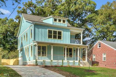 Atlanta Single Family Home For Sale: 215 S Howard St
