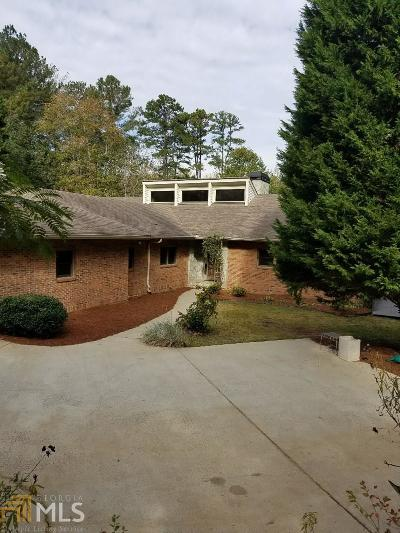 Marietta, Roswell Single Family Home Under Contract: 4320 Bishop Lake Rd