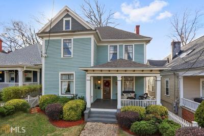 Grant Park Single Family Home For Sale: 441 Park Ave