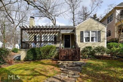 Atlanta Single Family Home Under Contract: 481 Harold Ave