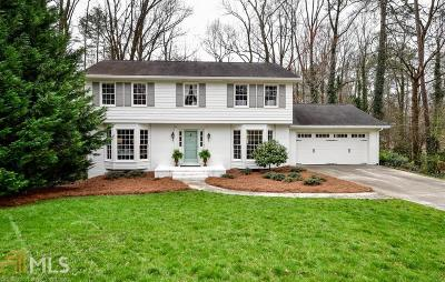 Brookhaven Single Family Home Under Contract: 1661 Berkford Ct