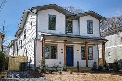 Atlanta Condo/Townhouse For Sale: 198 Hutchinson St #A