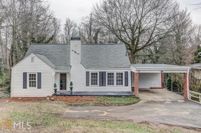 Atlanta Single Family Home For Sale: 142 NE Mount Paran Rd