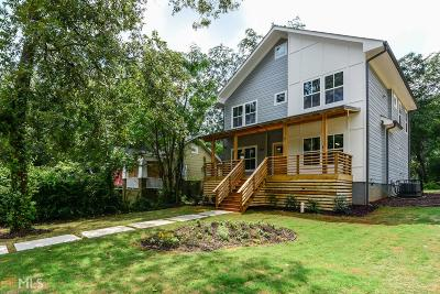 Atlanta Single Family Home For Sale: 969 Moreland Ave