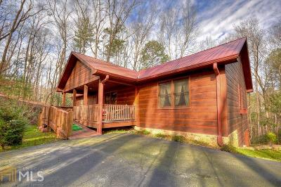 Ellijay Single Family Home Under Contract: 196 Glen Hollow Ct