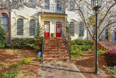 Atlanta Condo/Townhouse For Sale: 3127 Lenox Rd #14