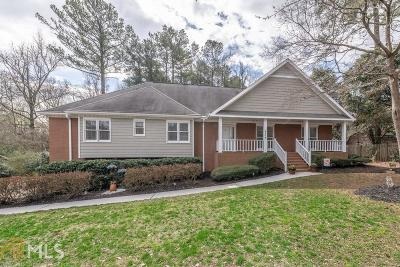 Kennesaw Single Family Home For Sale: 3172 NW Country Club Ct