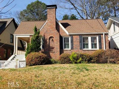 Atlanta Single Family Home Under Contract: 2060 McLendon Ave