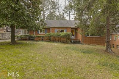 Single Family Home For Sale: 1684 Lenox Rd