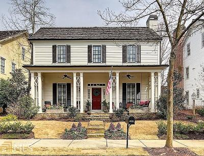 Cumming Single Family Home Under Contract: 6530 Vickery Creek Rd
