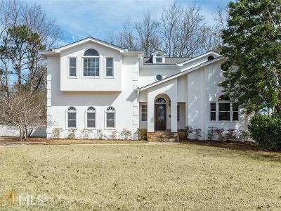 Johns Creek Single Family Home Under Contract: 5150 Forest Run Trce