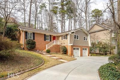 Dunwoody Single Family Home Under Contract: 1460 Valley View Rd