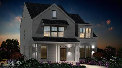 Grant Park Single Family Home For Sale: 637 Liella Park #lot 5