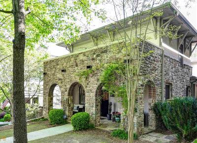 Atlanta Single Family Home New: 321 Sutherland Place