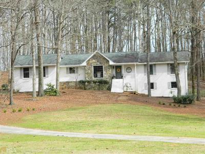 Monroe, Social Circle, Loganville Single Family Home Under Contract: 3345 Claude Brewer Rd