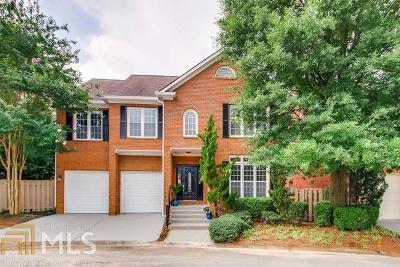 Atlanta Single Family Home For Sale: 384 Angier Ct