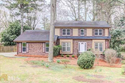 Dunwoody Single Family Home Under Contract: 1461 Womack Rd