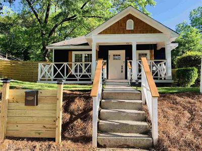 Peoplestown Single Family Home For Sale: 91 SE Haygood Ave
