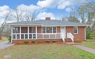 Hartwell GA Single Family Home Under Contract: $169,900