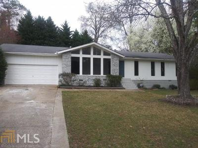 Austell Single Family Home For Sale: 6840 Myra