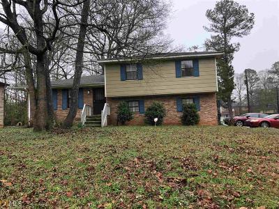 Clayton County Single Family Home Back On Market: 6934 Apache Ln