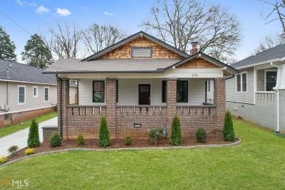 Atlanta Single Family Home Under Contract: 674 SW Lexington Ave