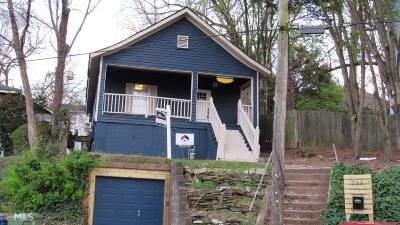 Grant Park Single Family Home For Sale: 711 United Ave