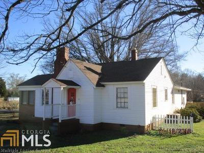 Franklin County Single Family Home For Sale: 524 Hartwell Rd