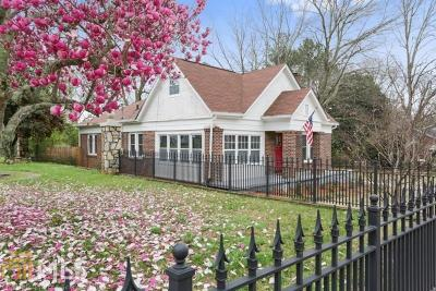 East Point Single Family Home Under Contract: 1262 Jefferson Ave