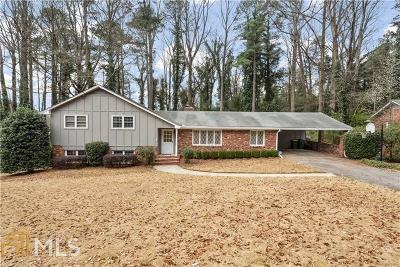 Atlanta Single Family Home For Sale: 5780 Kayron Dr